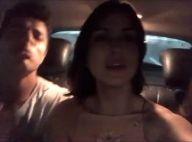 Juliana Paes e atores de 'Dois Irmãos' se divertem cantando em carro. Vídeo!