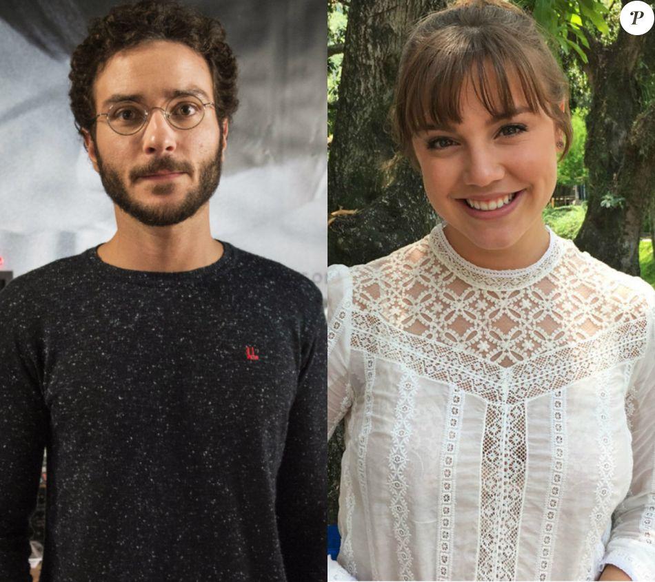 Na novela 'A Lei do Amor', Elio  (João Campos) l eva livro com digital de Marina/Isabela (Alice Wegman) à polícia