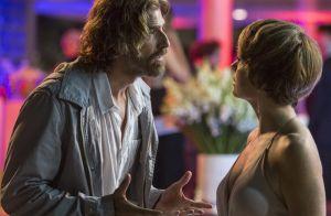 Novela 'A Lei do Amor': Helô discute com Pedro por causa de Laura. 'Ela te ama!'