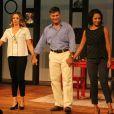 Leonardo Vieira reestreia a peça 'Nove em Ponto'  no Teatro Folha, em São Paulo, na noite desta quarta-feira, 11 de janeiro de 2017