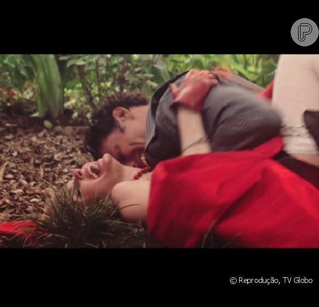 Bárbara Evans estreia na TV em 'Dois Irmãos' protagonizando cenas quentes com Cauã Reymond, em 12 de janeiro de 2017