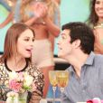 Paolla Oliveira e Mateus Solano se despedem de elenco de 'Amor à Vida'