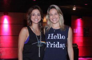 Fernanda Gentil e namorada curtem espetáculo no Rio com mais famosos. Veja fotos
