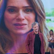 Leticia Spiller se emociona ao homenagear Marcello Novaes na TV: 'Eu te amo'
