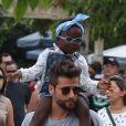 Títi, filha de Bruno Gagliasso, é alvo de constantes ataques racistas na web