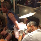 Jayme Monjardim tatua 31 versículos de gênesis I no braço: 'Gosta de religião'
