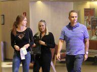 Marina Ruy Barbosa se diverte no shopping com os pais, Gioconda e Paulo. Fotos!