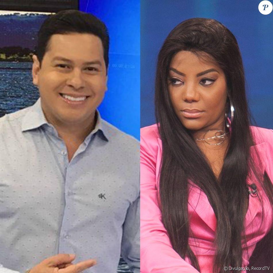Marcão, apresentador do 'Balanço Geral DF', minimizou o ataque racista contra Ludmilla: 'Vício de linguagem'