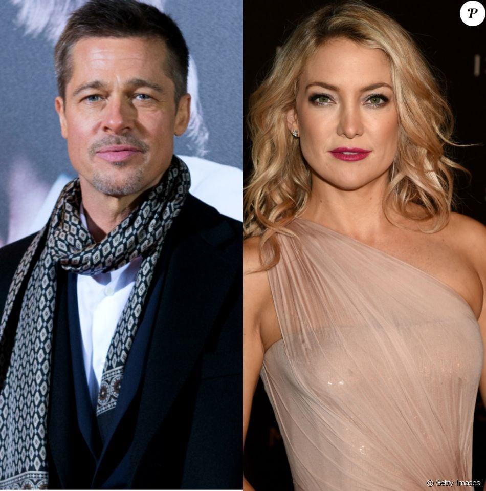Separado de Angelina Jolie, Brad Pitt estaria namorando a atriz Kate Hudson