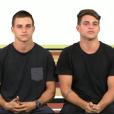 Os gêmeos Antonio e Manoel irão disputar uma vaga no 'BBB17'
