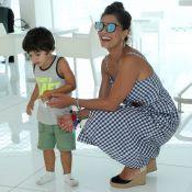 Juliana Paes se diverte com os filhos, João e Antonio, em dia de folga. Fotos!