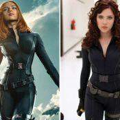 Scarlett Johansson tem cintura afinada por photoshop em cartaz e gera polêmica