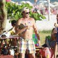 Oscar Magrini mantém o corpo em dia, aos 52 anos