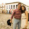 Oscar Magrini interpreta o pai de Helena (Bruna Marquezine) na novela 'Em Família'