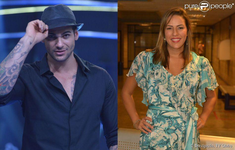 Rodrigo Lima e Princy Cavalcanti estão se encontrando após serem eliminados do 'BBB 14', em 6 de fevereiro de 2014