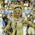 Bianca Monteiro é a rainha de bateria da Portela