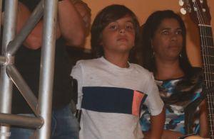 Filho de Ivete Sangalo, Marcelo rouba a cena ao acompanhar a mãe em show. Fotos!