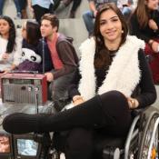 Lais Souza, após acidente, comemora evolução na fisioterapia: 'Em pé'. Vídeo!
