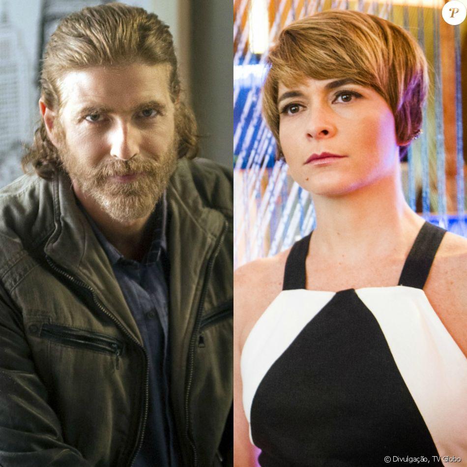 Helô (Claudia Raia) apoia a decisão de Pedro (Reynaldo Gianecchini) em viajar até Luanda para conhecer Stelinha, na novela 'A Lei do Amor'