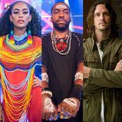 Taís Araújo e Lázaro Ramos invadem 'Rock Story' com personagens de 'Mister Brau'