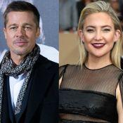 Brad Pitt e Kate Hudson planejam assumir namoro, conta mãe: 'Romântica'