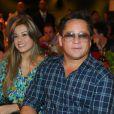Cantor Leonardo sofre acidente de carro em Goiás, nesta sexta-feira, 7 de fevereiro de 2014, e passa bem: 'Ninguém se feriu'