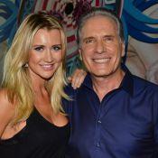 Roberto Justus elogia a namorada, Ana Paula Siebert: 'Ela me equilibrou'