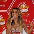Sabrina Sato brilha na coletiva de imprensa do camarote da Brahma no Carnaval 2014, realizada no Maracanã, Zona Norte do Rio de Janeiro, nesta terça-feira, 18 de fevereiro de 2014