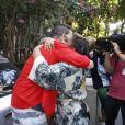 Quem também esteve no encontro foi o cantor Netinho, responsável por uma participação especial no Bloco da Preta