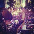 O bloco de Preta Gil no Centro do Rio atraiu milhares de foliões