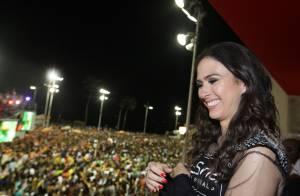 Carnaval: Tatá Werneck se esbalda em Salvador e diz que está solteira