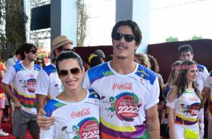Carnaval: Cleo Pires curte folia no Recife, PE, com Rômulo Neto e famosos