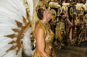 Antonia Fontenelle sobre bumbum ferido no desfile da Grande Rio: 'Nem senti'
