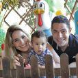 Wanessa e Marcus Buaiz fazem festa na fazenda É o Amor para celebrar aniversário de 1 ano de José Marcus; foto divulgada em 16 e janeiro de 2013