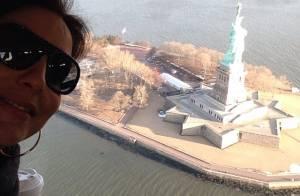 Ivete Sangalo chega em Nova York para gravar DVD de Laura Pausini