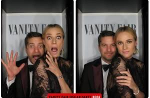 Diane Kruger, Bruce Willis e famosos tiram fotos em cabine após festa do Oscar