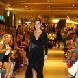 Thaila Ayala no desfile de lançamento da coleção de inverno da multimarca Fabric & Co, no Shopping Village Mall, na Barra da Tijuca, Zona Oeste do Rio de Janeiro, na noite desta quinta-feira, 13 de março de 2014