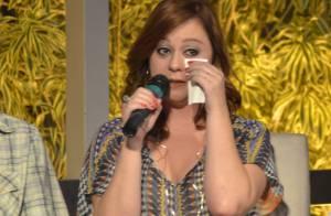 Guta Stresser chora em coletiva de 'A Grande Família': 'Mudou minha história'