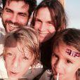 Vanessa Lóes e Thiago Lacerda já são pais de Gael, de 6 anos, e Cora, de 3