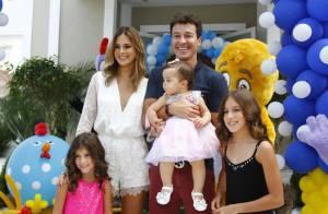 Pai de três meninas, Rodrigo Faro garante: 'Sou um cara totalmente feminista'