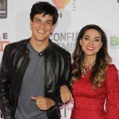 Mateus Solano e Fernanda Machado lançam o filme 'Confia em Mim' em São Paulo