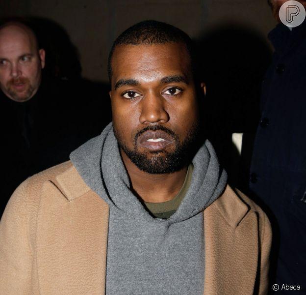 Kanye West é fichado pela polícia por agressão a fotógrafo, em 27 de março de 2014