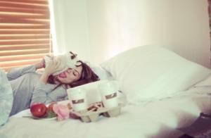 Thaila Ayala recebe café da manhã na cama em Nova York: 'Começar o dia bem'