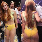 Aline escolhe vestido da final do 'BBB14' sem ajuda de stylist: 'Pediu na loja'
