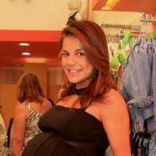 Nivea Stelmann celebra 40 anos festejando a chegada da filha, Bruna