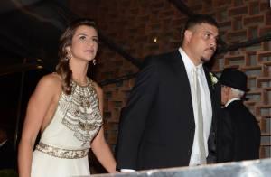 Ronaldo se estressa com Paula Morais após a noiva beber demais em festa
