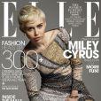 Miley Cyrus é capa da revista 'Elle' do mês de maio