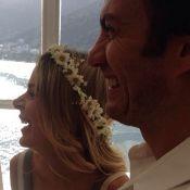 Gabriel Braga Nunes se casa em cerimônia reservada no Rio. Veja fotos
