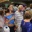 Alexandra Martins e Antônio Fagundes curtiram carnaval juntos