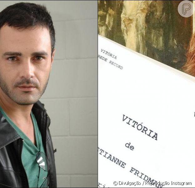 Rodrigo Phavanello foi chamado às pressas para gravar a novela 'Vitória' no lugar de Dado Dolabella, que foi demitido após suposta agressão a um produtor da trama. 'Não sei o que está acontecendo, pois estava de férias', afirma o ator ao Purepeople
